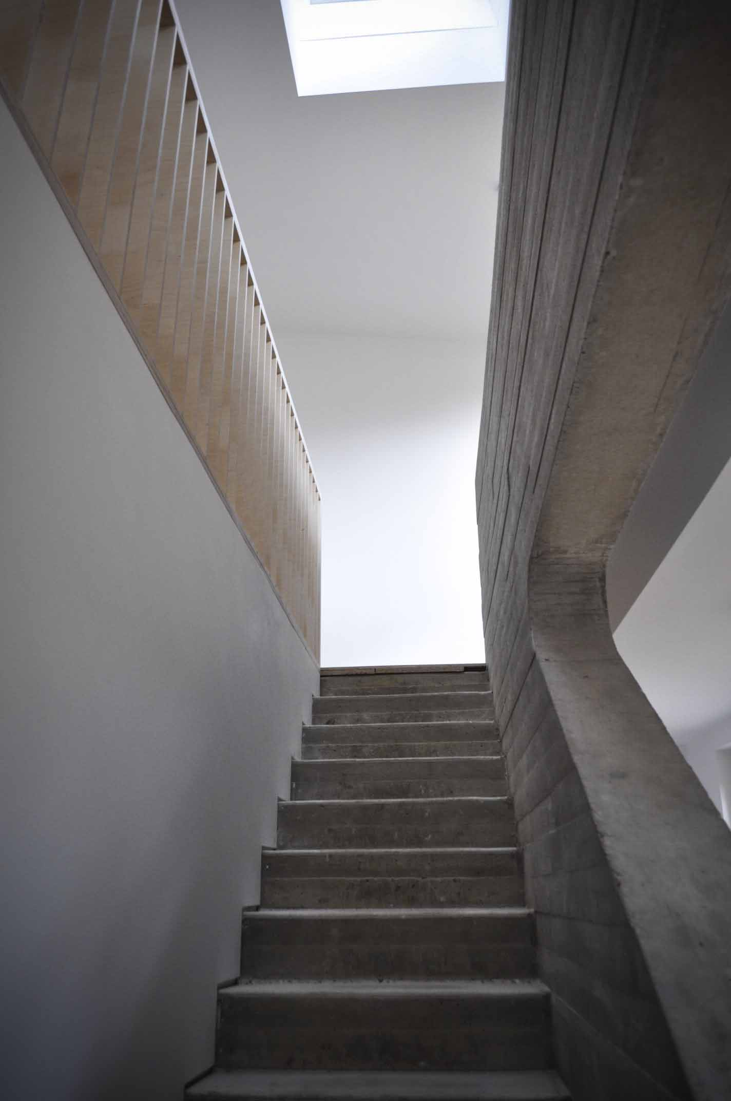 Staircase designed by Studio Bark