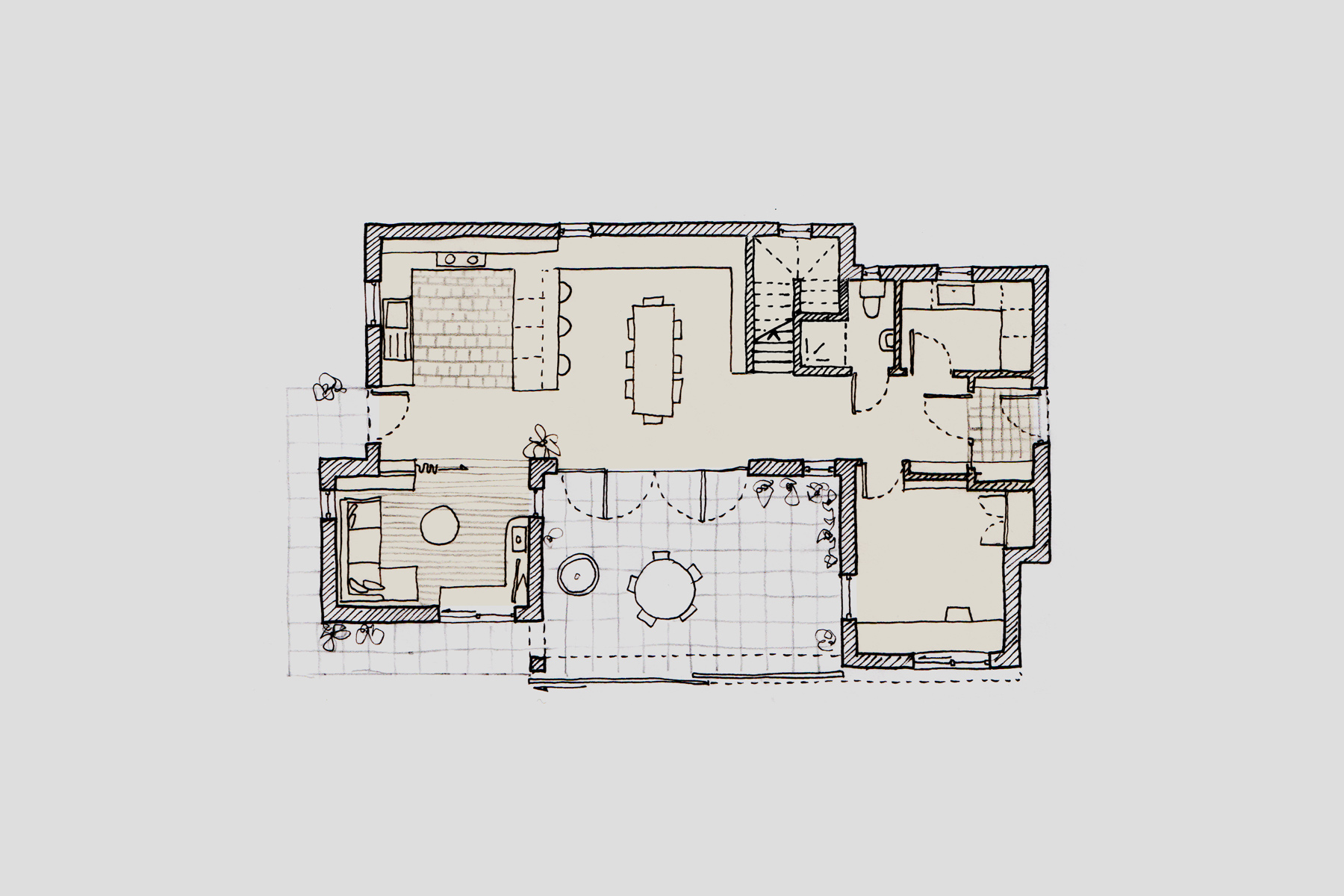 Plans of the Billingford project by Studio Bark